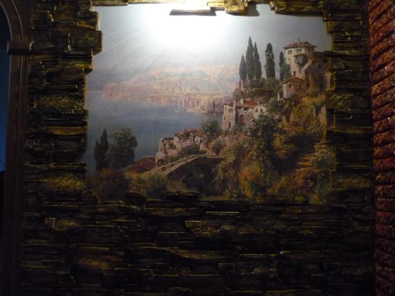 фреска в старом замке