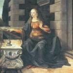 Первый портрет, первые работы Леонардо.