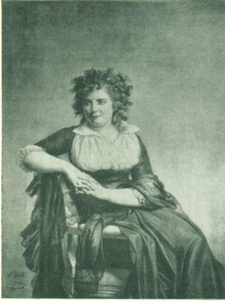 Портрет маркизы Д'Орвилье
