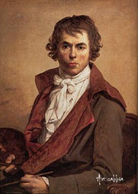 Жак Луи Давид, портрет