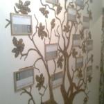 дерево из гипса