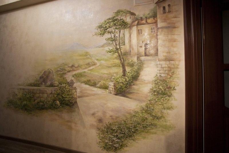 Роспись стен в Минске и Беларуси.