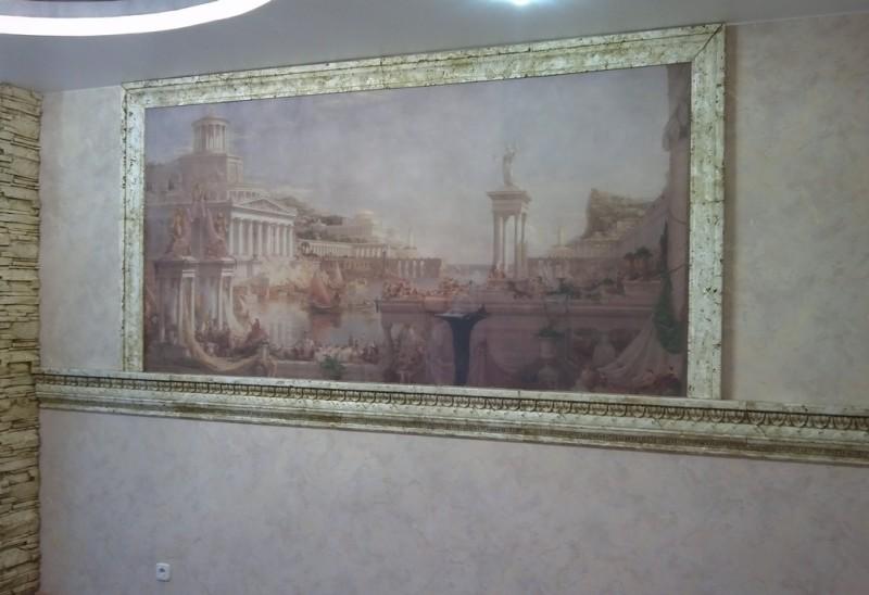 интерьерная фреска