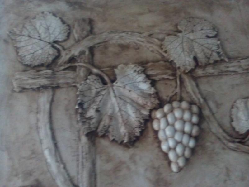 гипсовая виноградная лоза