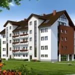 Архитектурное формирование малоэтажных жилых комплексов.