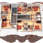 Виды гибкой планировки домов